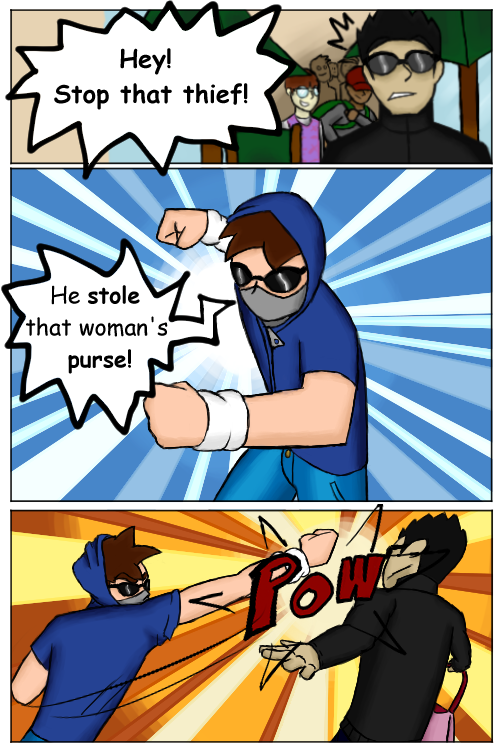 Heroes in Training #1 - Page 5
