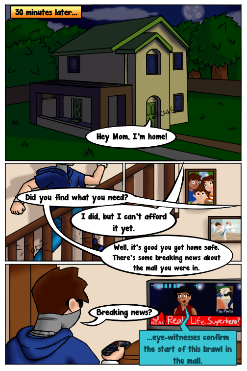 Heroes in Training #1 - Page 11