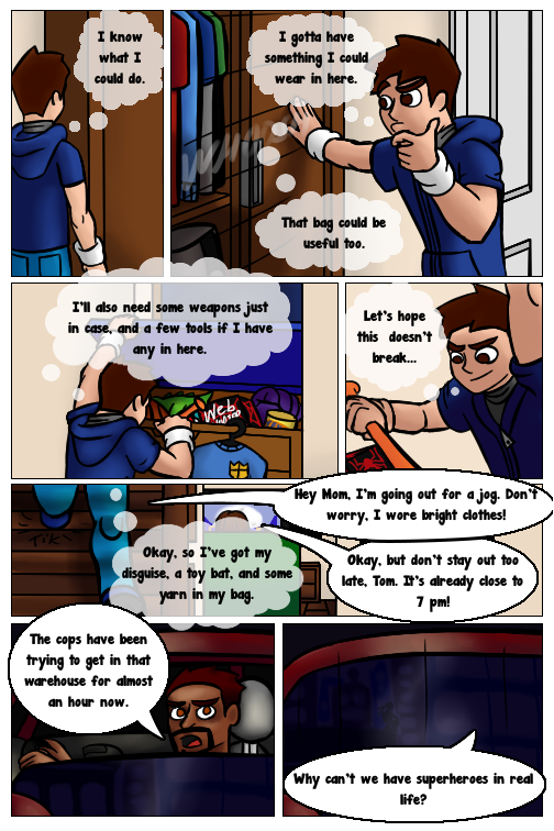 Heroes in Training #1 - Page 13